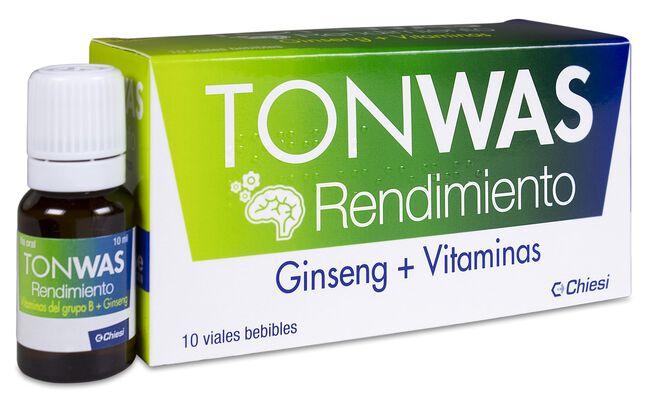 Chiesi Tonwas Rendimiento, 10 Viales