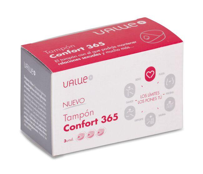Tampón Confort 365, 3 Uds