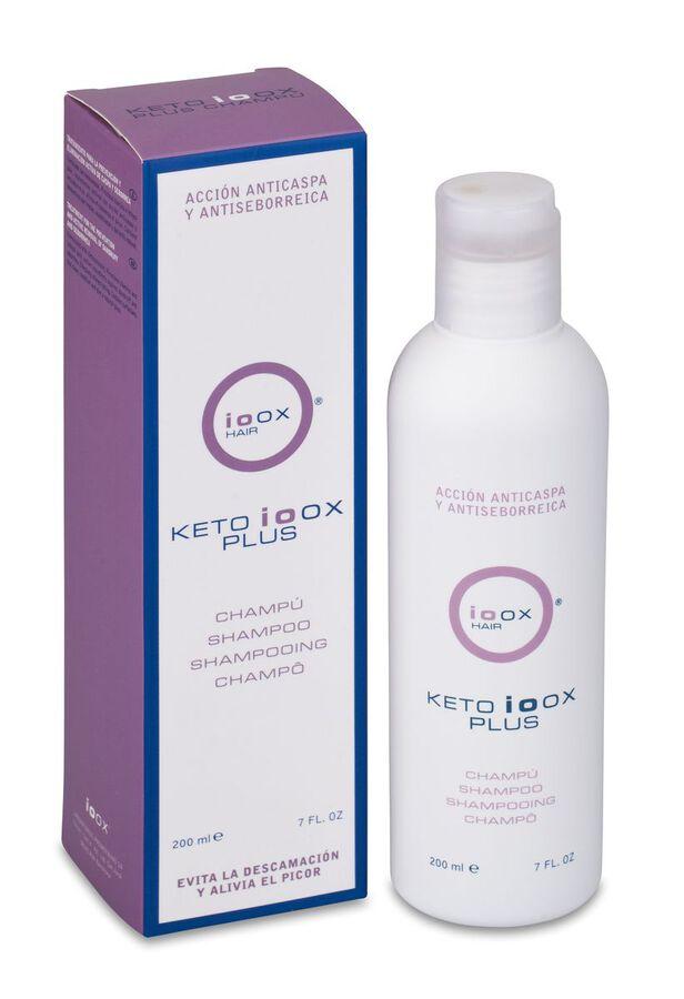 Ioox Hair Ketoioox Plus Champú Anticaspa, 200 ml