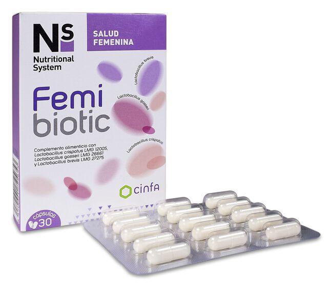 Ns Femibiotic, 30 Cápsulas
