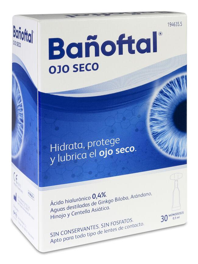 Bañoftal Ojo Seco Monodosis, 30 x 0,5 ml