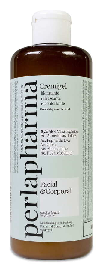 Perlapharma Multipurpose Cremigel Facial y Corporal, 300 ml