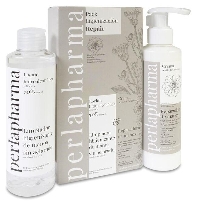 Pack Perlapharma Gel Hidroalcohólico + Crema Caléndula, 1 Ud