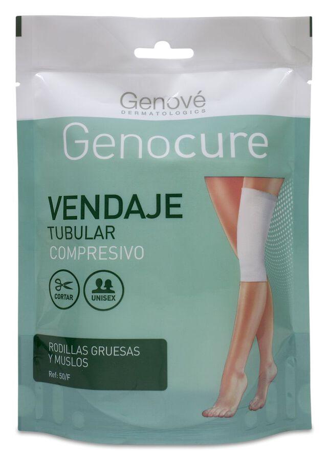 Genocure Vendaje Tubular Compresivo Rodillas Gruesas y Muslos Ref.50, 1 Ud