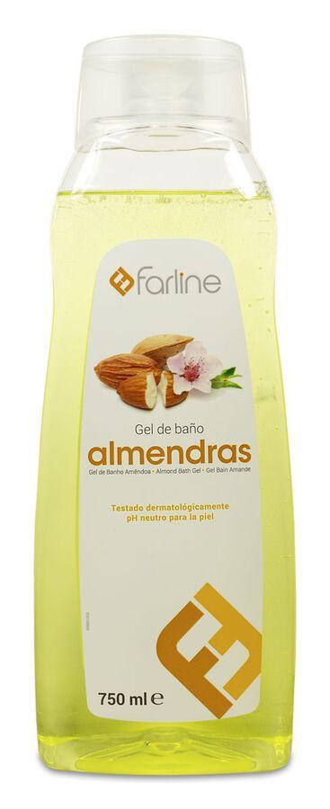 Farline Gel de Baño de Almendras, 750 ml