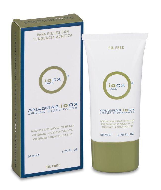 Ioox Face Anagras Crema Hidratante, 50 ml