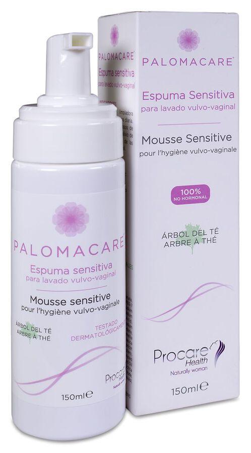 Palomacare Espuma Sensitiva, 150 ml