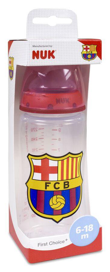 Nuk FC Biberón Barcelona Tetina Silicona 300 ml 6-18 M, 1 Ud