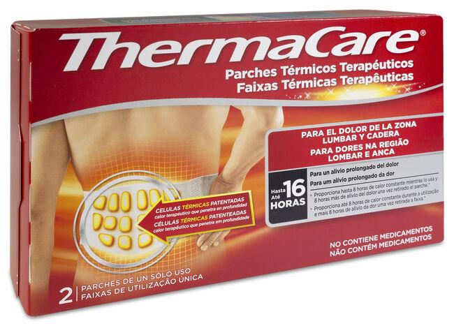 Thermacare Parche Térmico Terapéutico Lumbar, 2 Uds