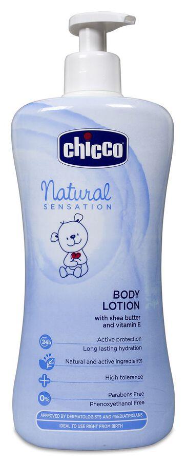 Chicco Natural Sensation Crema Corporal, 500 ml