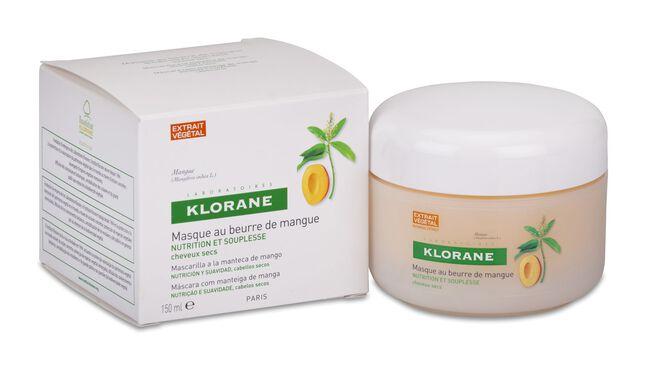 Klorane Mascarilla Reparadora a la Manteca de Mango, 150 ml