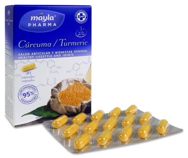 Máyla Pharma Cúrcuma, 30 Comprimidos