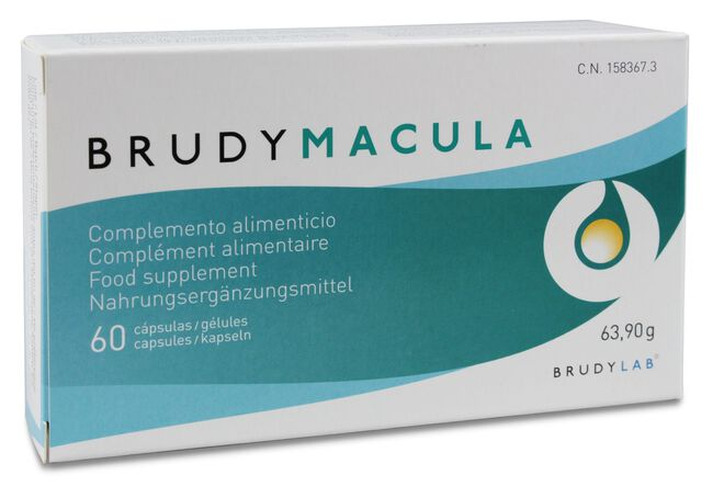 Brudy Mácula, 60 Cápsulas
