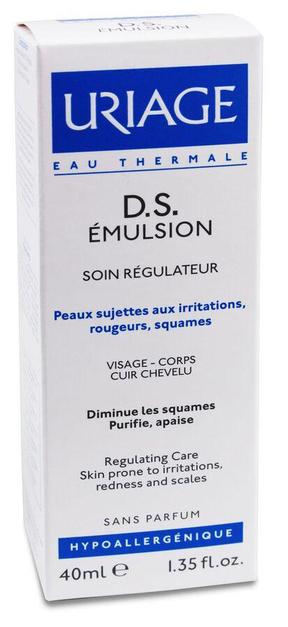 Uriage D. S. Emulsión Dermatitis Seborreicas Costra Láctea, 40 ml
