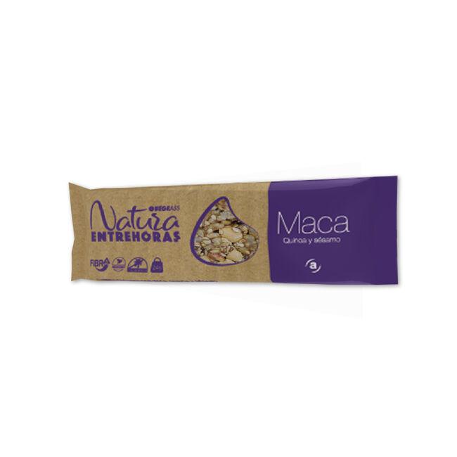 Obegrass Entrehoras Natura Maca, Quinoa y Sésamo, 24 g