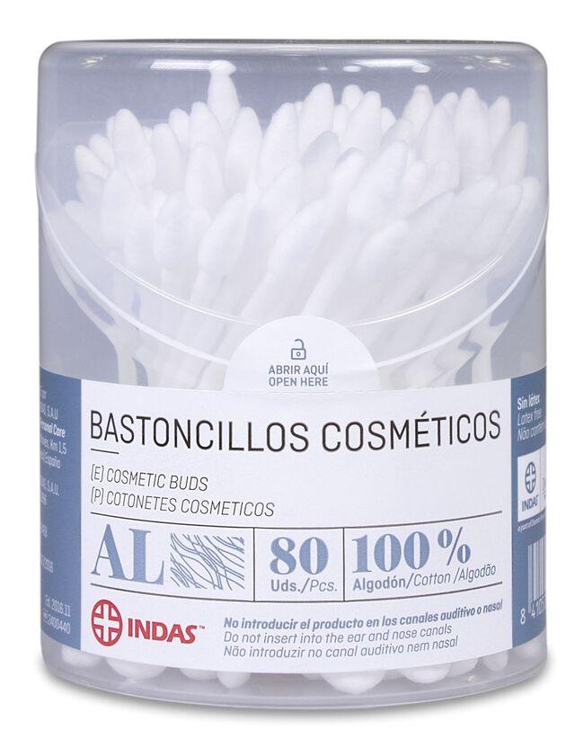 Indas Bastoncillo Cosmético, 80 Uds