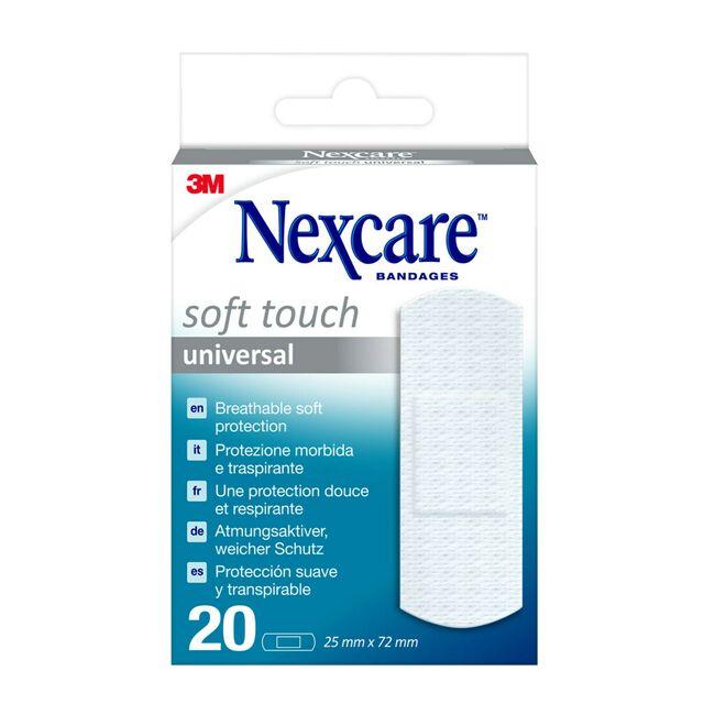 Nexcare Soft 19 x 76 mm, 20 Uds