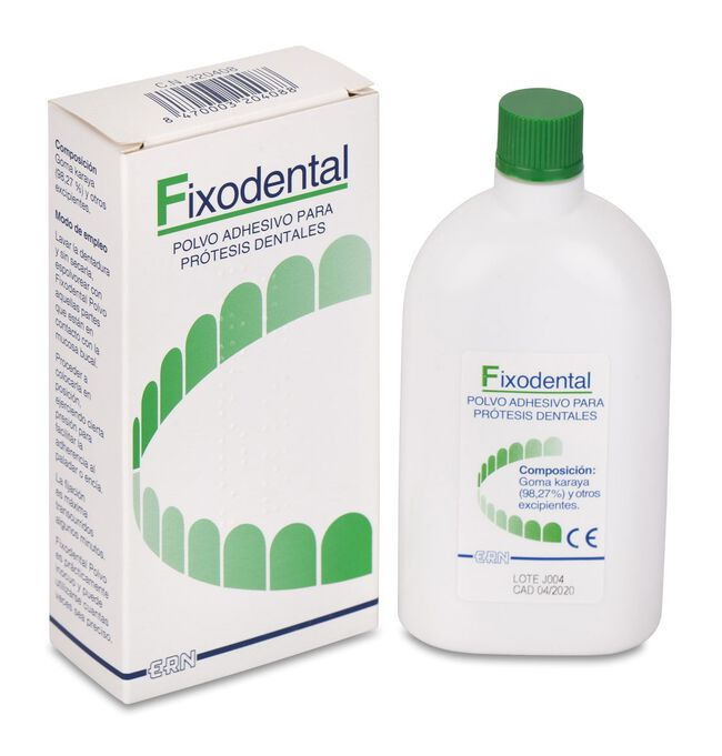 Fixodental Polvo Adhesivo Prótesis, 50 g