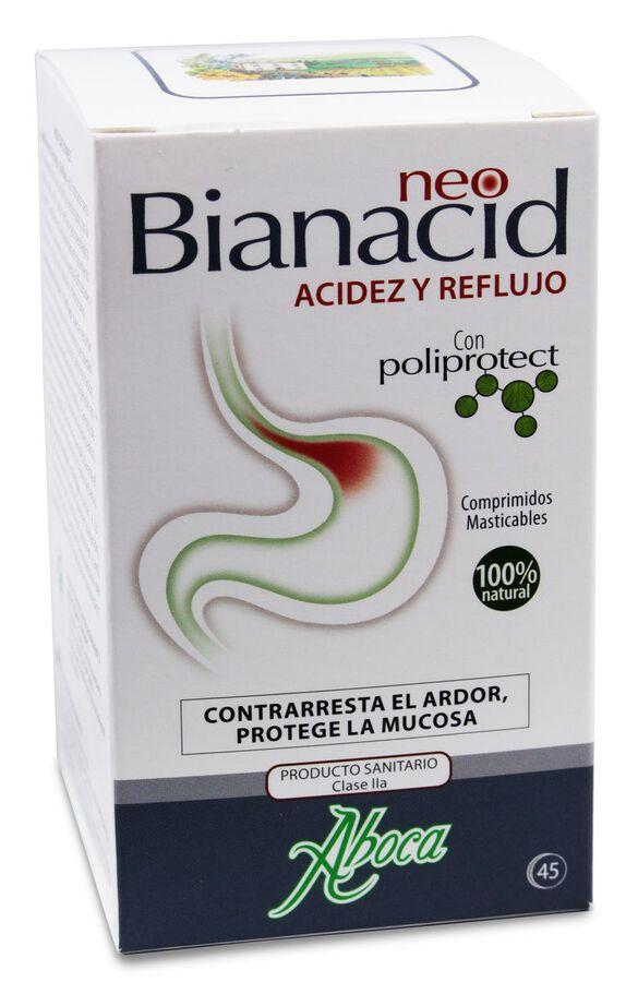 Aboca NeoBianacid Acidez y Reflujo, 45 Comprimidos