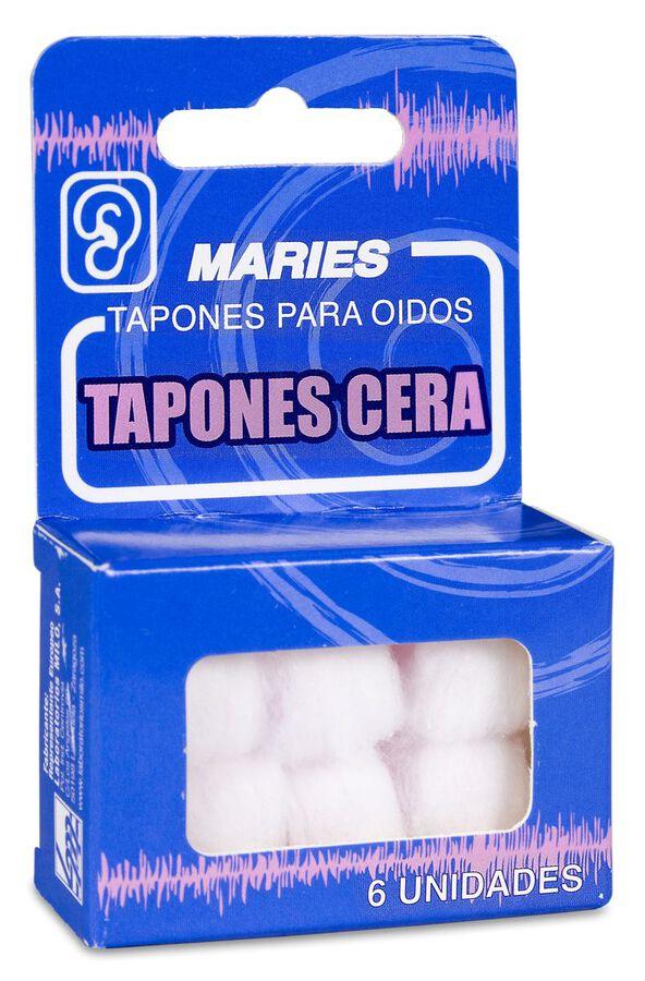 Prim Tapones de Cera Maries, 6 Uds
