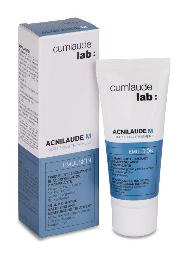 Cumlaude Acnilaude M Hidratante Matificante Piel Grasa, 40 ml