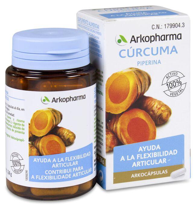 Arkopharma Arkocápsulas Cúrcuma, 45 Cápsulas