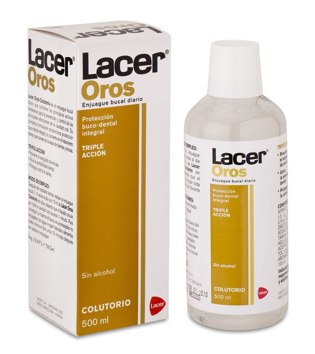 Lacer Oros Colutorio, 500 ml
