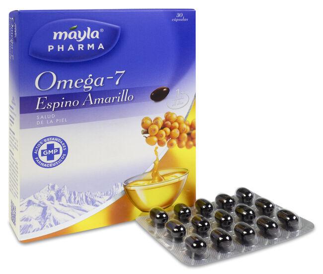 Máyla Pharma Omega 7 Espino Amarillo, 30 Cápsulas