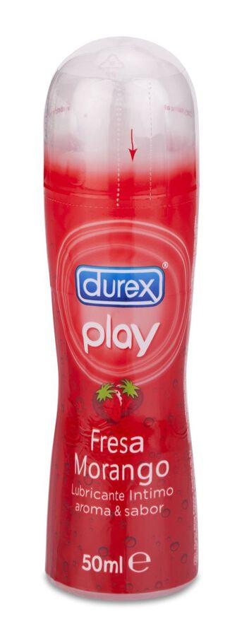 Durex Play Sabor Fresa, 50 ml