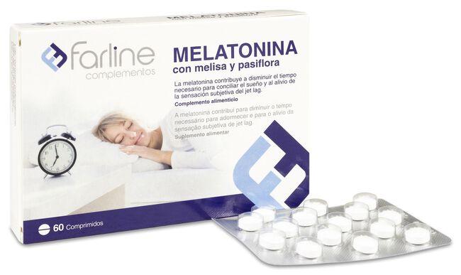 Farline Melatonina, 60 Comprimidos