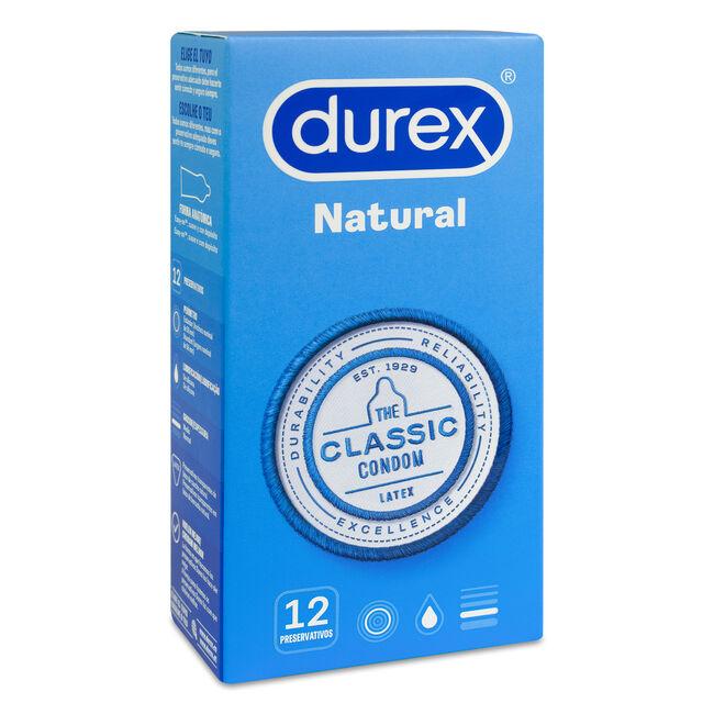Durex Natural Plus, 12 Uds