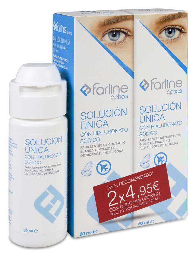 Duplo Farline Solución Única AH de Viaje, 2 x 60 ml