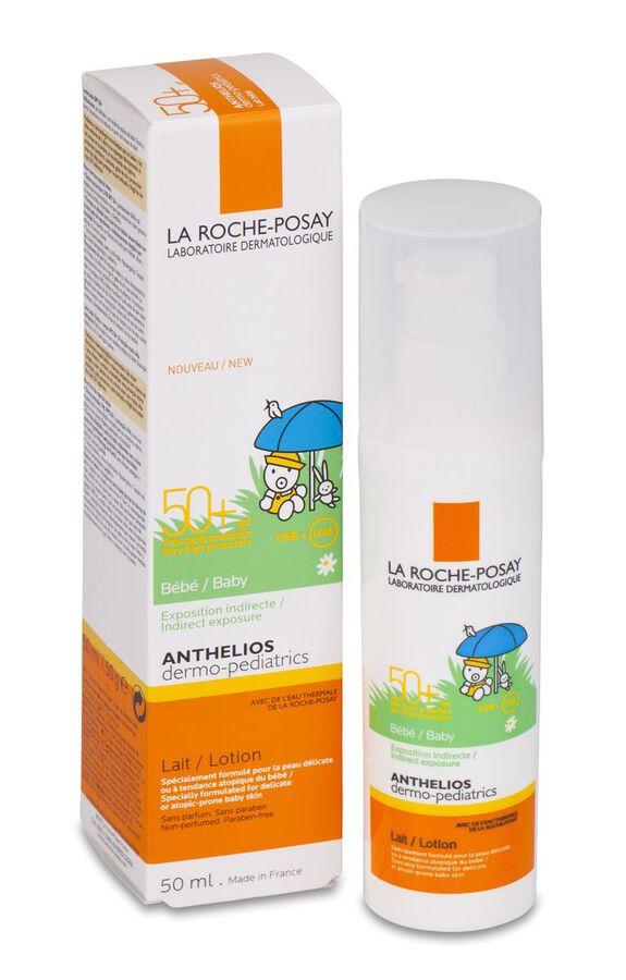 La Roche-Posay Anthelios Baby Dermo-Pediatrics SPF 50+ Leche, 50 ml