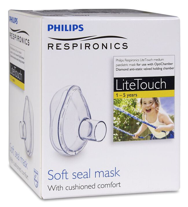 Philips LiteTouch Diamond Mascarilla Infantil, 1 Ud