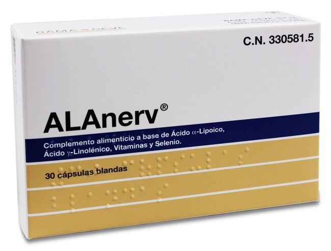 ALAnerv 920 mg, 30 Cápsulas
