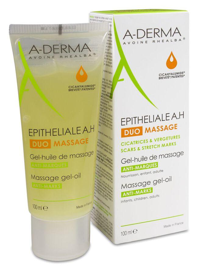 A-Derma Epitheliale AH Duo Gel-Aceite de Masaje, 100 ml