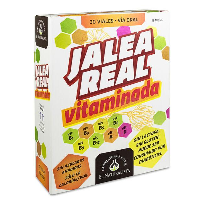 El Naturalista Jalea Real Vitaminada, 20 Ampollas