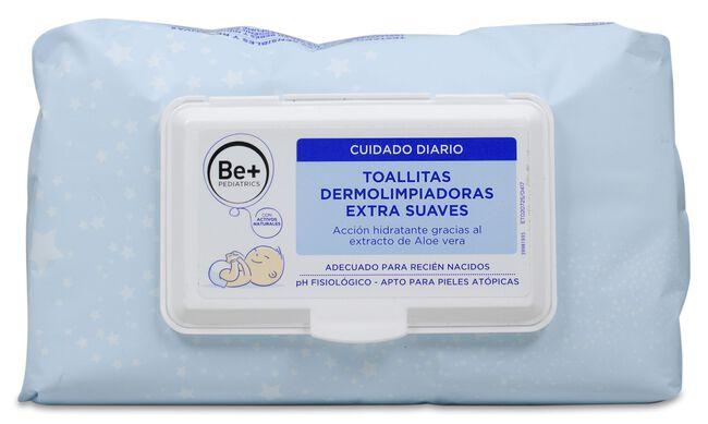 Be+ Pediatrics Toallitas Húmedas Extra Suaves, 72 Uds