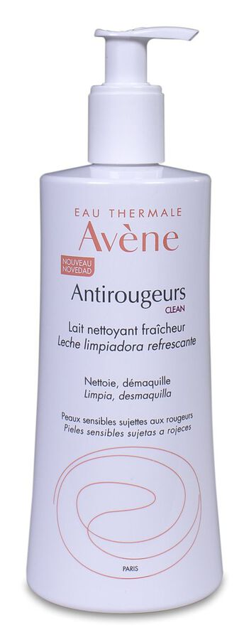 Avène Antirojeces Clean Leche Limpiadora Refrescante, 400 ml