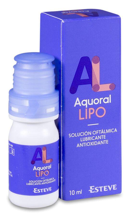 Aquoral Lipo Solución Lubricante Ocular, 10 ml