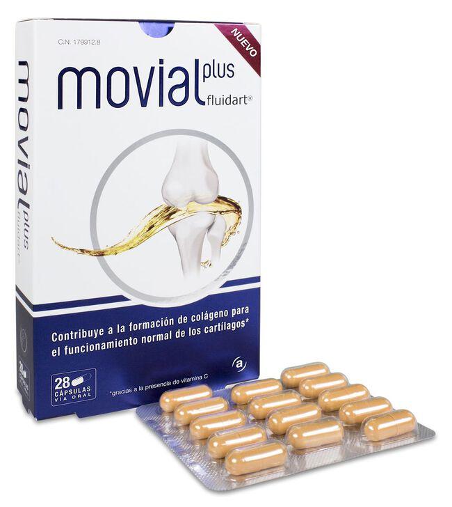 Movial Plus Fluidart, 28 Cápsulas