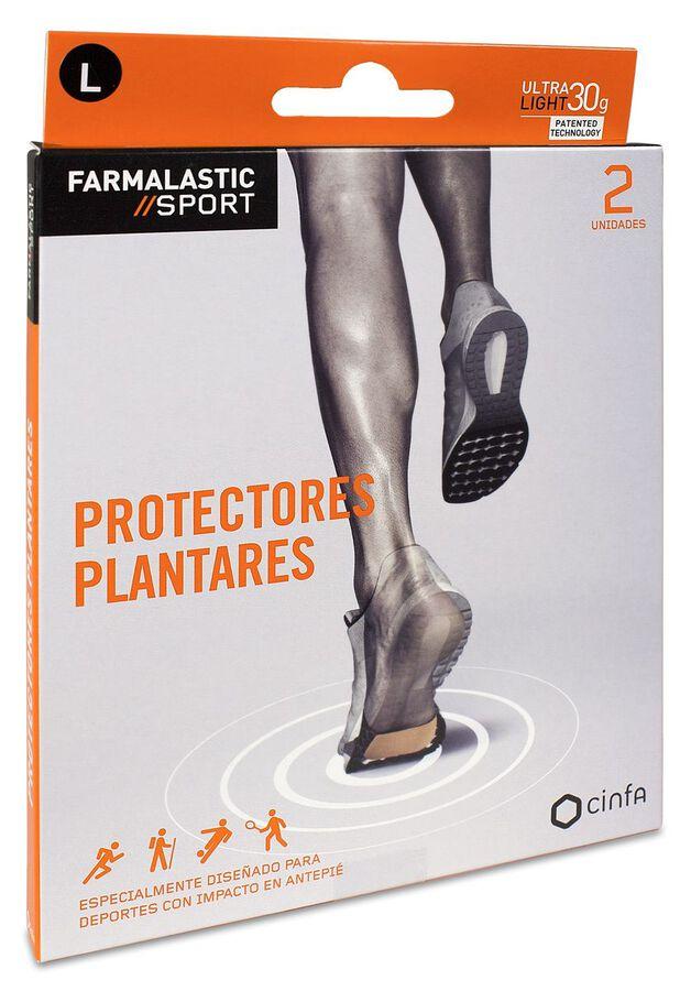 Farmalastic Sport Protectores Plantares Talla L, 2 Uds