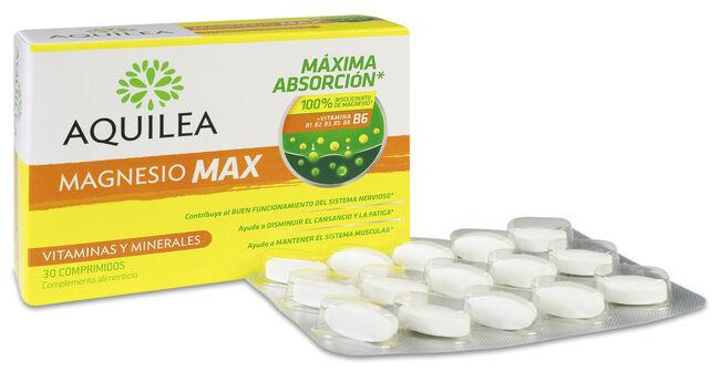 Aquilea Magnesio Max (Bisglicinato), 30 Comprimidos