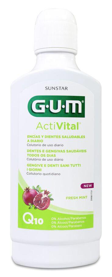 GUM Activital Colutorio, 500 ml