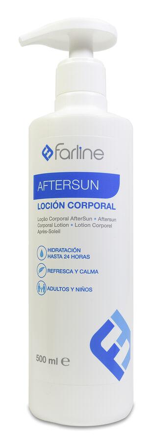 Farline Aftersun Loción Corporal Formato Familiar, 500 ml