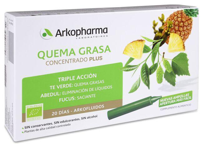 Arkopharma Arkofluido Quemagrasa, 20 Viales