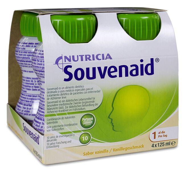 Nutricia Souvenaid Vainilla, 4 x 125 ml