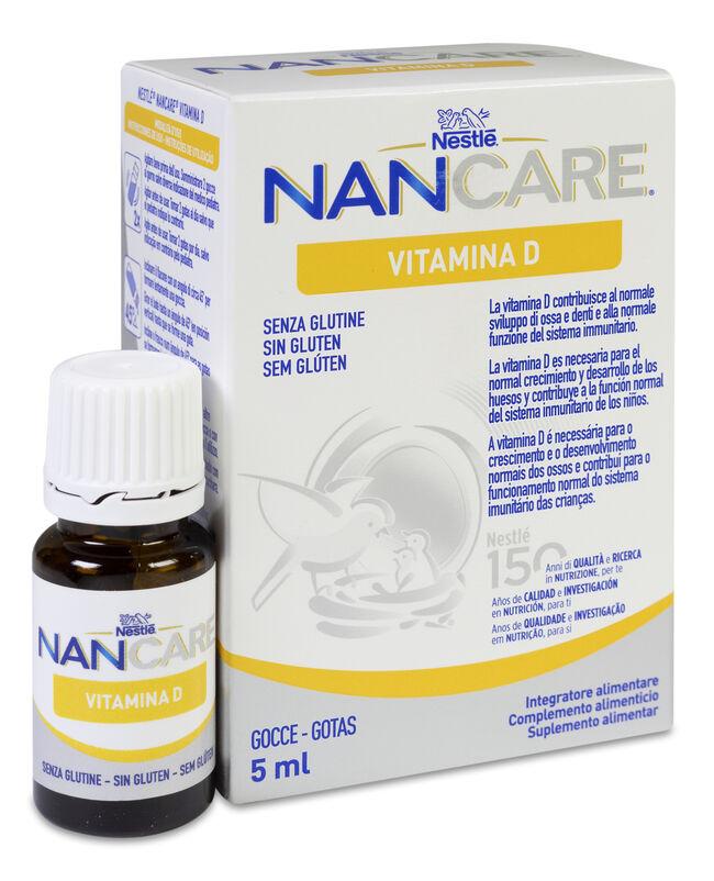 Nestlé Nancare Vitamina D, 5 ml