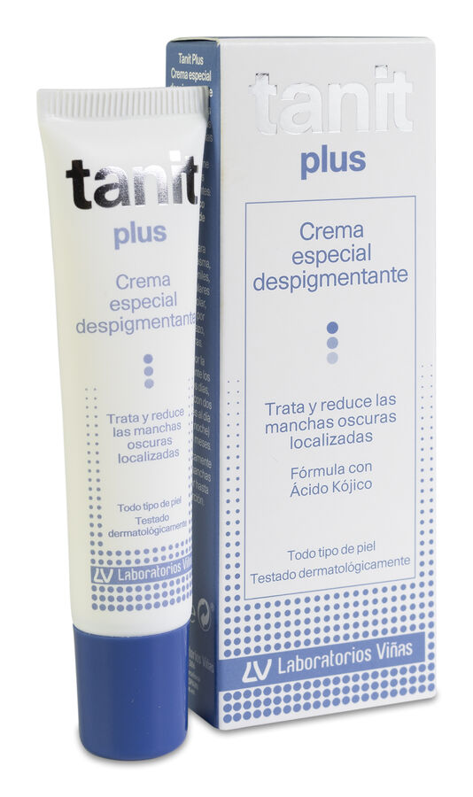 Tanit Plus Crema Especial Despigmentante, 15 ml