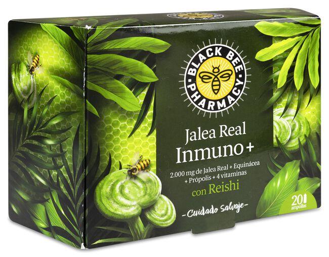 Black Bee Pharmacy Jalea Real Inmuno+, 20 Uds